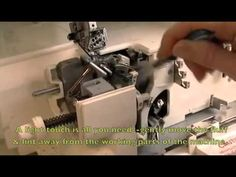 cleaning your serger