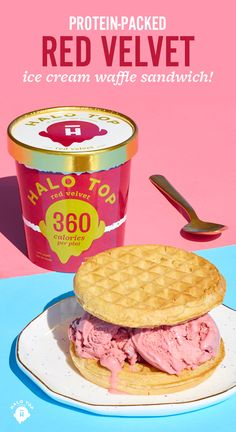 Breakfast doesn't have to be boring. Add scoops of healthy, protein-packed ice cream to your waffles or pancakes. Halo Top is an amazing tasting ice cream that's also low-cal, low-carb, and high protein! Check our Store Locator to find a pint near you! Yummy Treats, Delicious Desserts, Dessert Recipes, Healthy Desserts, I Love Food, Good Food, Yummy Food, Healthy Protein, High Protein