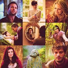 Resultado de imagen para personajes de once upon a time 1 temporada
