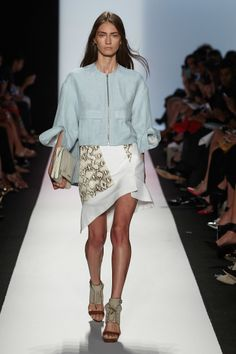BCBG Max Azria Spring/Summer 2014 | Trend Report: Powder Blue http://aol.it/1iVyPN2