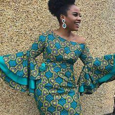 100 Latest Ankara Styles In Vogue For Smart Ladies/Women African Fashion Ankara, African Fashion Designers, Latest African Fashion Dresses, African Print Dresses, African Print Fashion, Africa Fashion, African Dress Styles, Modern African Clothing, African Attire