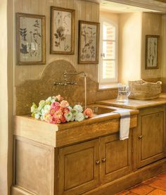 44 reclaimed wood rustic countertop ideas french country soapstone and kitchen sinks - French Kitchen Sinks