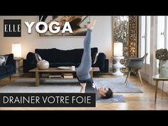 20 minutes de yoga pour drainer son foie┃ELLE Yoga - YouTube