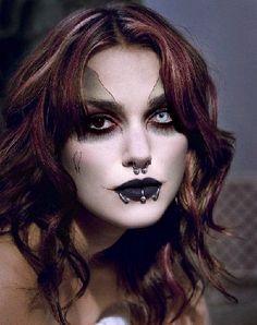 dramatic face makeup | Gothic Makeup Shops - The Gothic eZine