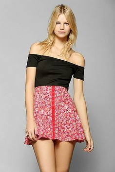 Coincidence & Chance Off-The Shoulder Cropped Top