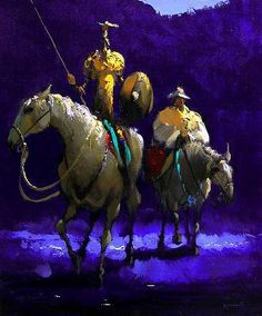 Armando Romanelli: Don Quichote y Sancho Panza