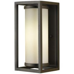 $179 simple; 1-2 days Industrial Moderne Outdoor Wall Sconce by Murray Feiss