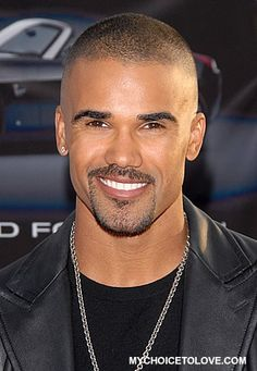 Actor Shemar Moore- African American, Irish and French Canadian.