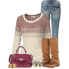 """Sweater and Jeans"" by cindycook10 on Polyvore"