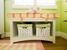 A Multifunctional Little Girl's Room in a Small Space : Rooms : Home & Garden Television