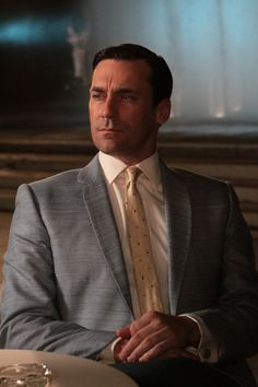 "Jon Hamm as Donald Draper in ""Mad Men"""