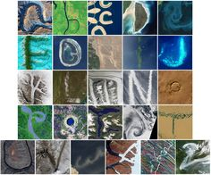 NASA tracks down the 26 letters of the alphabet from space.