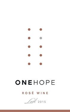 2015 ONEHOPE Lodi Ros Wine 750 mL >>> You can find out more details at the link of the image.