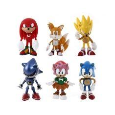 Coleção Sonic the Hedgehog Action Figures c/ 6 peças | Loja Quarto Geek