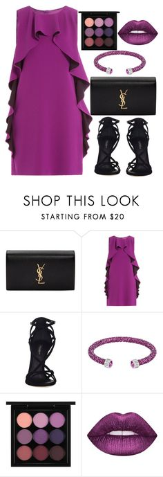 """Untitled #1618"" by mihai-theodora ❤ liked on Polyvore featuring Yves Saint Laurent, Boutique Moschino, Dolce&Gabbana, duty free, MAC Cosmetics and Lime Crime"
