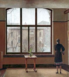 BBC - Your Paintings - From My Study Window Thomas Burke Walker art gallery Liverpool Photografy Art, Art Thomas, Art Deco, Walker Art, Looking Out The Window, Window View, Window Panes, Open Window, Through The Window