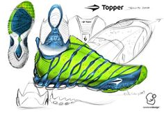 Shoe ideation sketch