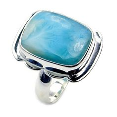 Caribbean Gem' Rare Dominican Larimar & .925 by TheSilverPlaza