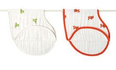 Aden and Anais baby burpy bib - my favorite, can never have enough! Worth the splurge!