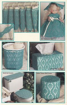 Pineapple Bathroom Crochet Patterns