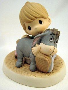 Precious Moments 159022 875555029826 B012H0R19I Precious Moments Disney A Hug Is No Bother Boy Hugging Eeyore