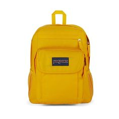 JanSport Union Pack Backpack Pockets on pockets, zippers on flaps, this thing has it all. The Union Pack is that fully loaded top shelf bag with the padded shoulders and everything. If you're the type with lots of organizing to do, this pack will get it done. Jansport Backpack, Mini Backpack, Yellow Maize, Handbags For School, Purple Orchids, School Backpacks, Getting Things Done, Evening Bags, Laptop Sleeves