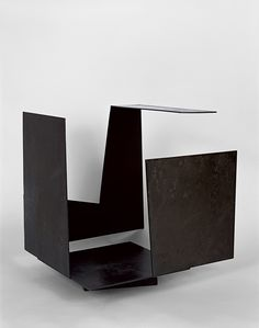 Jorge Oteiza, Empty Box with Large Opening, Steel with copper plating, 18 x 17 x 15 inches x 45 x 39 cm) Sculpture Metal, Abstract Sculpture, Musée Guggenheim Bilbao, Museums In Nyc, Contemporary Sculpture, Modern Artists, Vide, Cube Design, Action Painting