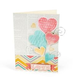 Love, Hugs and Hearts Card Whatever project you dream up, remember you have a Big Shot on your side. The Sizzix Big Shot Machine helps you create amazing shapes to decorate your warmest wishes.