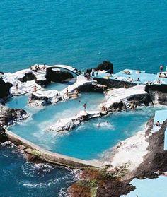 Escapada a las piscinas de lava de Madeira (Portugal). #viajar #portugal #madeira