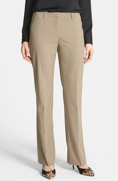 Halogen® 'Taylor' Suiting Pants (Regular & Petite) available at #Nordstrom