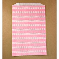 Pink Icing Large Paper Bags (pack of 10)