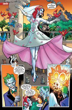Harley in her wedding dress