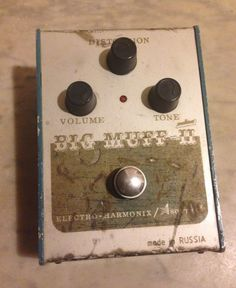 Electro-Harmonix / Sovtek Civil War Big Muff Pi!
