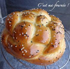 C'est ma fournée !: Halla (pain du shabbat)