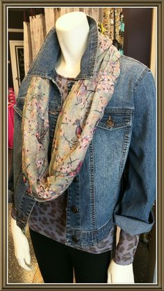 SLIM-SATIONS Jean Jackets At Giggle Gals Boutique