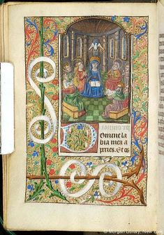 Book of Hours, MS S.5 fol. 137v - Images from Medieval and Renaissance Manuscripts - The Morgan Library & Museum