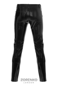 Men's Latex Jeans by ZorenkoLondon
