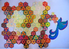 """Puzzle """"O Vôo do Beija-Flor"""" - Posição do beija-flor fora da base I - Por Antônia Sobral"""