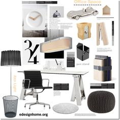 Created by edesignhome.org   Create a beautiful Office space with these items.  I support the Campaign: Be original, Please do not copy other Members sets!