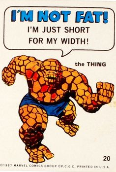 The wisdom of The thing.    Philadelphia Chewing Gum Corp. Circa 1967