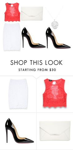 """""""Untitled #56"""" by livlulu15 ❤ liked on Polyvore featuring Bebe, Christian Louboutin and Style & Co."""