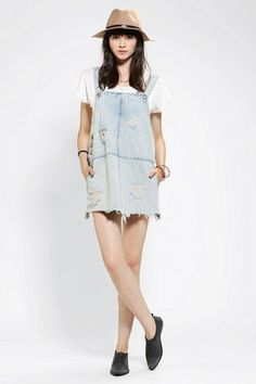 Urban Outfitters - Somedays Lovin Campfire Overall Dress