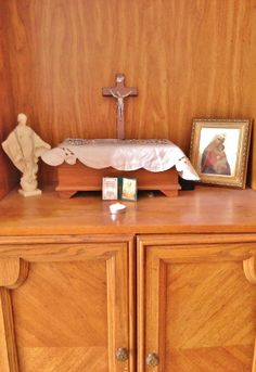 Making a Home Altar/Prayer Corner: First Steps in Building Your Domestic Church