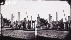 Ruins of Baton Rouge, Louisiana, circa 1862-1865