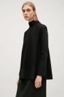 Stil in Nürnberg | Identity Styling | Top with back collar tie - Black - Tops - COS GB