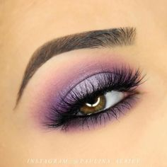 This pretty purple look by @paulina_alaiev. She used Makeup Geek Eyeshadows in Simply Marlena, Motown, Masquerade, Day Dreamer, and Whimsical.