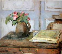 Edouard Vuillard.    I think this Painting has a vintige look to it.