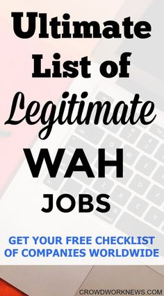 Want to find out the massive list of companies around the world which hire work at home mums, side hustlers and online workers. Read more to find out about the massive list and get your free checklist.