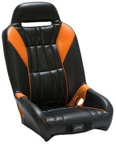PRP Polaris RZR XP 1000 GT Seats - Orange Madness Colors