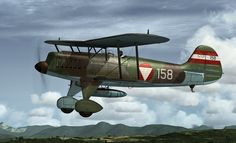 FSX Heinkel He-51 Austrian Air Force